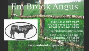 Contact Em Brook  (814) 733-4552